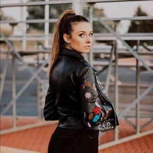 Romeo Juliet Leather Jacket